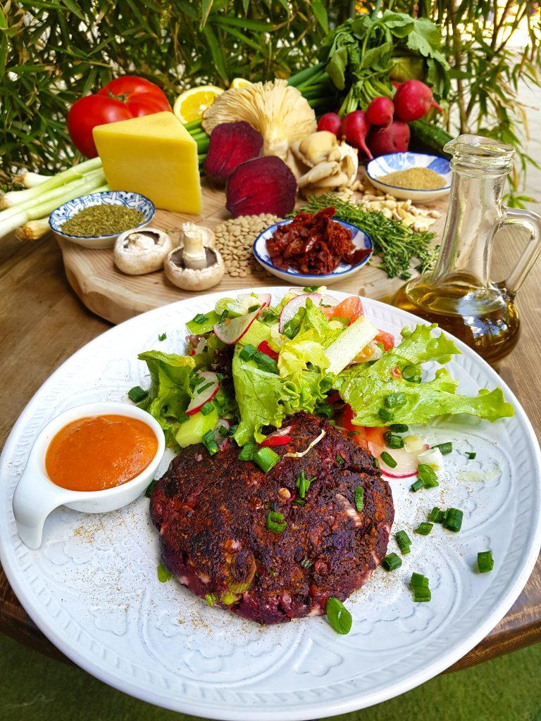 Плескавица - вегетарианско или веганско ястие