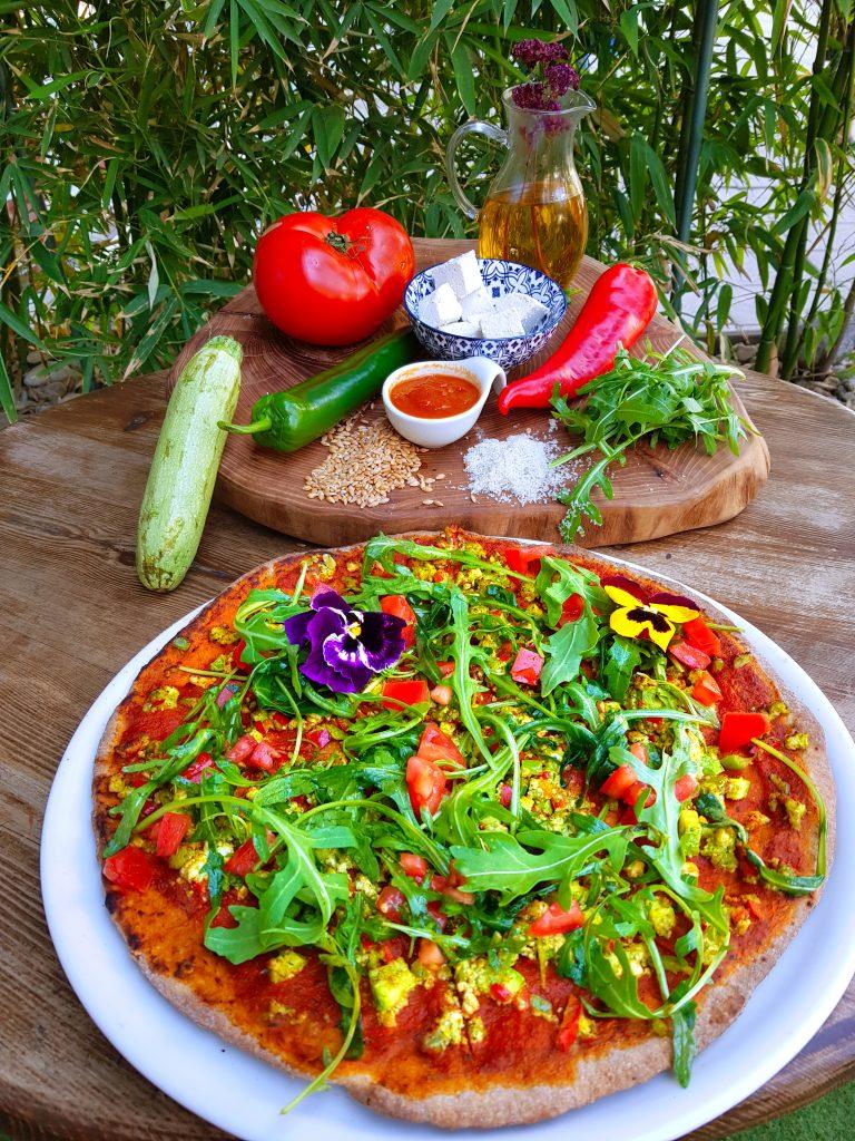 Веган пица с доставка до вкъщи в София